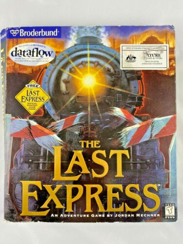 THE LAST EXPRESS ADVENTURE GAME PC