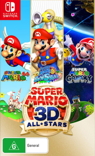 Super Mario 3D All-Stars Switch Game NEW