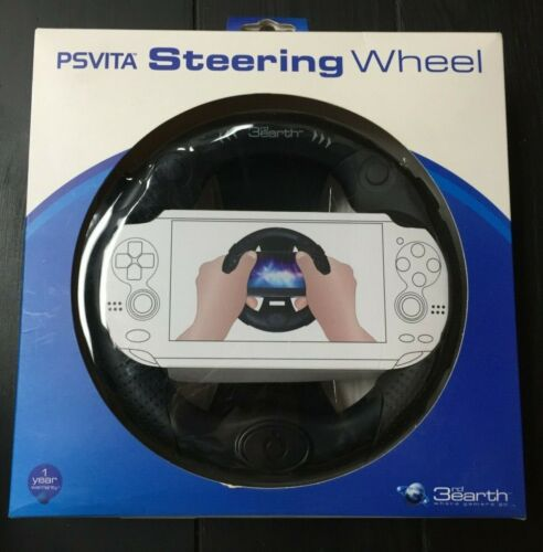 PS Vita Steering Wheel - 3rd Earth - Good Condition