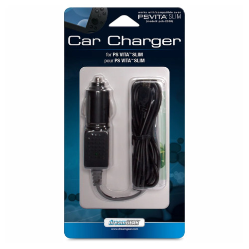 dreamGEAR Car Charger for PS Vita Slim NEW