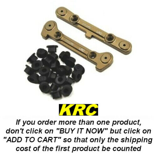 TLR244028 - 8IGHT 4.0 LRC HINGE PIN SET - CALES ARRIERE REGLABLES LRC 8IGHT 4.0