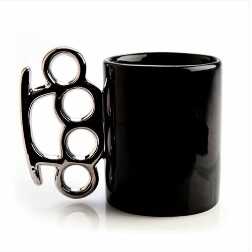 Knuckle Duster Ceramic Mug