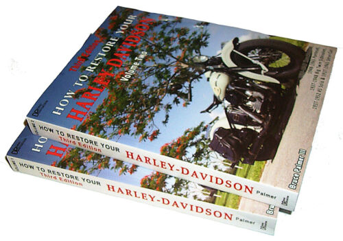 'NEW' 3rd Edition 2 Book Set HOW TO RESTORE YOUR HARLEY-DAVIDSON by Bruce Palmer