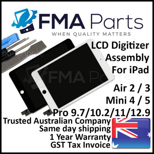For iPad Air Mini Pro 2 3 4 LCD Front Touch Screen Glass Digitizer Assembly 9.7
