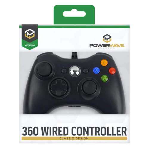 Powerwave Wired Xbox 360 Controller NEW