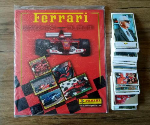 Panini FERRARI [2003] empty album + complete set stickers 1-180 A-N SchumacherSports Stickers, Sets & Albums - 141755