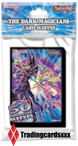 Yu-Gi-Oh! 50 Protèges Cartes/Pochettes SMALL The Dark Magicians Card Sleeves