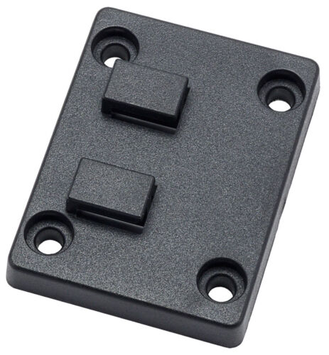 AP032SM | Arkon Adapter Plate New Version of 4 Hole AMPS to DUAL T-Tab Pattern