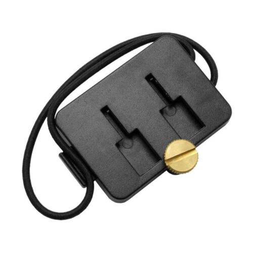 AP2TSTRAP | Arkon Adapter Plate Dual T-Slot to Dual T Tab with Bungee Locking St