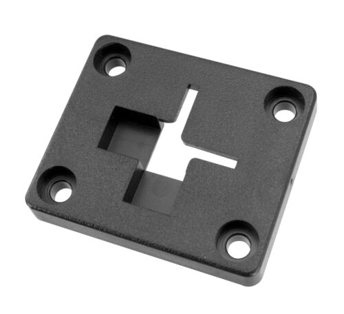 AP012 | Arkon Adapter Plate 2 Way Single T-Slot to 4 hole AMPS