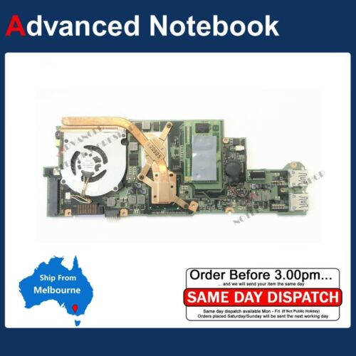 Sony Duo 11 SVD112 Laptop Motherboard Logic Board A1894455A A-1894-455-A