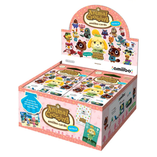 Animal Crossing amiibo Cards Box Series 4 NEW