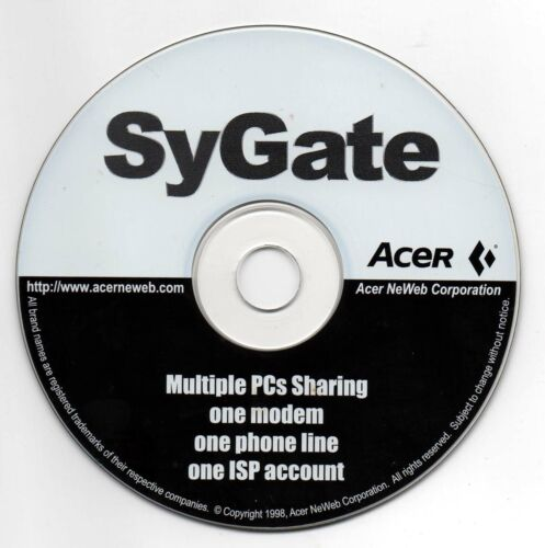 SyGate | Vintage Software 💽 | As New | Never Used ✔️✔️✔️✔️✔️|