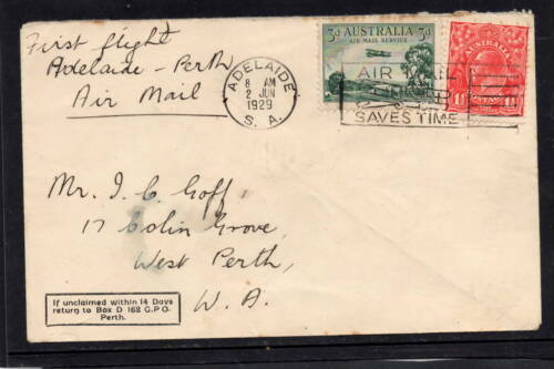 Adelaide to Perth Cover  (BP191)
