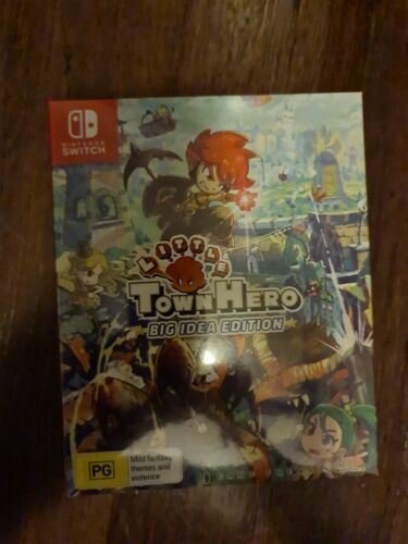 Little Town Hero Big Idea Edition Nintendo Switch Game Boxed