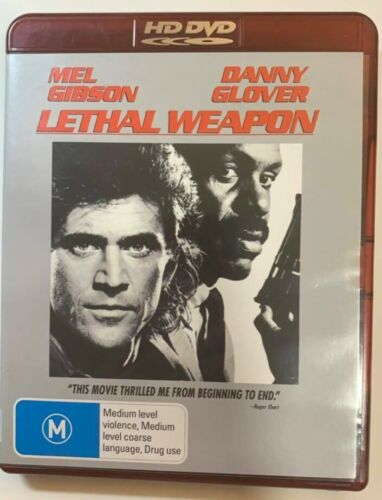 Lethal Weapon  HD DVD , Mel Gibson, Danny Glover, Free Postage
