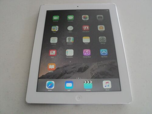 APPLE IPAD 4TH GEN 32GB WI-Fi AND CELLULAR WHITE TABLET