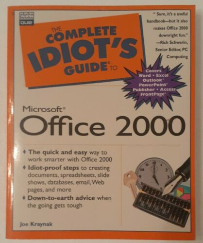 The Complete Idiots Guide To Microsoft Office 2000
