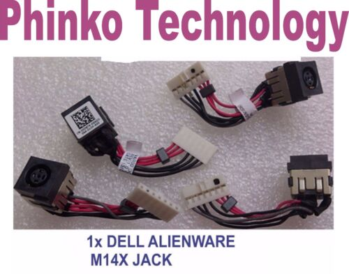 DC Power Jack cable for Dell Alienware 14 R1 R3 R4 M14X 5D8TK 05D8TK P39G