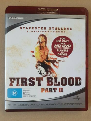 FIRST BLOOD Part III - Sylvester Stallone -    HD DVD
