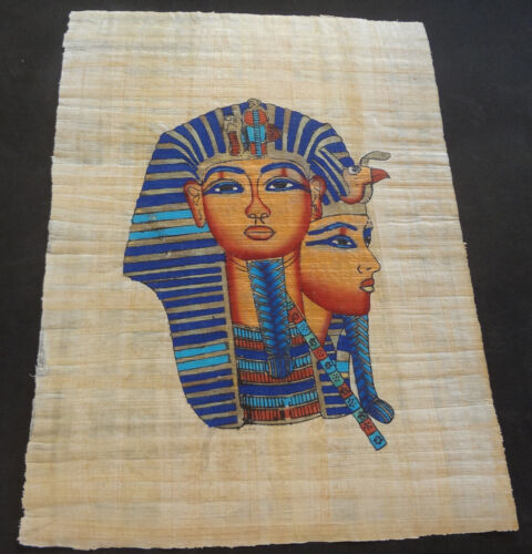 AUTHENTIC EGYPTIAN PAINTING ON PAPYRUS: n