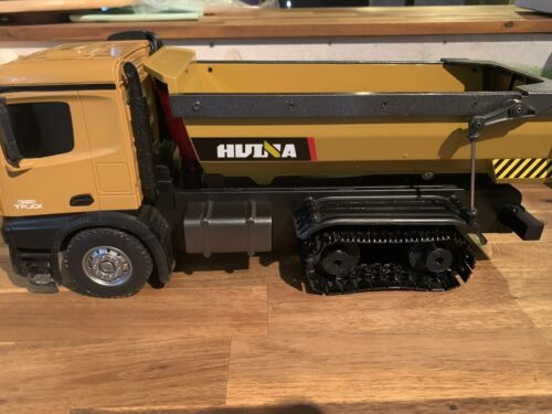 Huina Dump Truck 1573, 1582 Rear Track Upgrades. Includes Cogs & Tracks.!