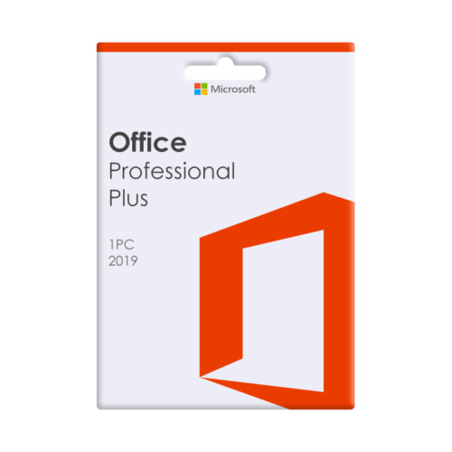 NEW Microsoft Office 2019 Professional Plus For 1 PC - DVD Included