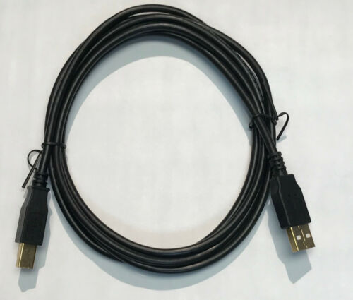 6ft Printer USB Cable HP Cannon Epson Dell Brother  BEST Quality! FAST FREE SHIP