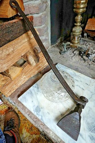 Antique MARITIME SHIPWRIGHT HAWSING IRON NAUTICAL CAULKING TOOL Ship Carpenter