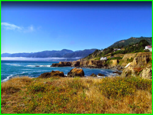 LARGE COASTAL LOT! - HUMBOLDT COUNTY - SHELTER COVE CALIFORNIA LAND CA <br/> NO RESERVE - LARGE LOT - DOUBLE ROAD FRONTAGE!