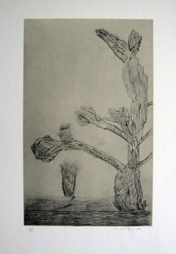 """MAX ERNST """"Historie naturelle II' 1957 Hand Signed Lithograph"""