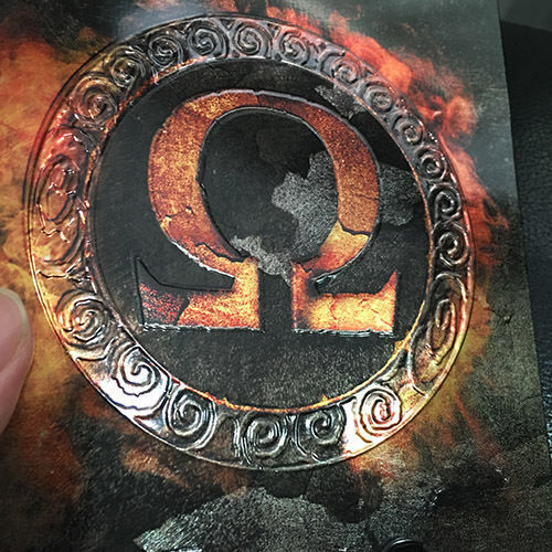 GOD OF WAR OMEGA PS3 LIMITED STEELBOOK AND 5 GAMES IN 3 DISC rare COLLECTION