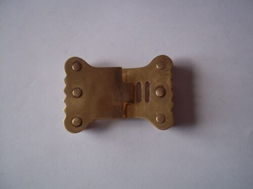 Neck Stock Buckle  Brass 1812 Military Stock Buckle 18th 19th century ReproReenactment & Reproductions - 156378