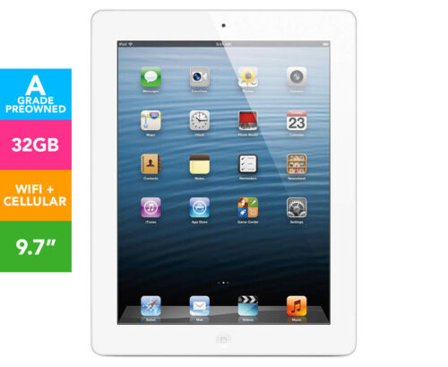 Pre-Owned Apple iPad 3 32GB WiFi + 4G - White   AF553