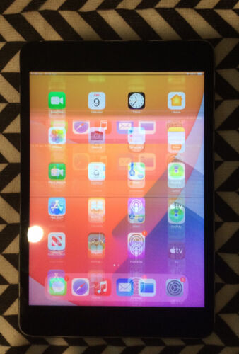 Apple iPad mini 4 128GB, Wi-Fi + Cellular (Unlocked), 7.9in - Space Grey (AU...