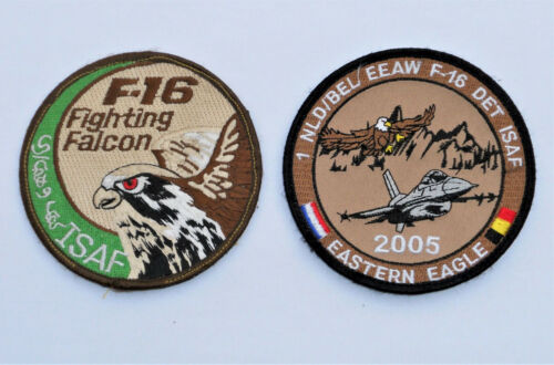 Patch F-16 FIGHTING FALCON et EEAW DET ISAF 2005