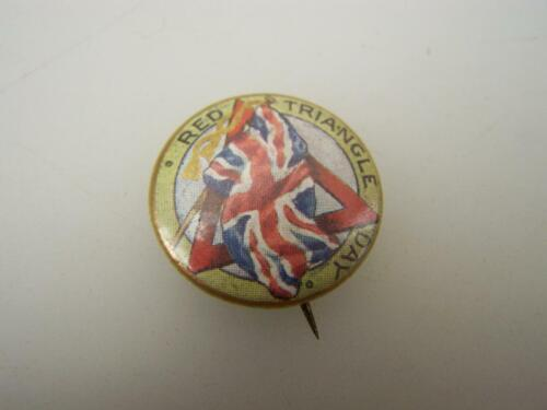 WW11 Pin back badge YMCA Red Triangle Day                              40591939 - 1945 (WWII) - 13977