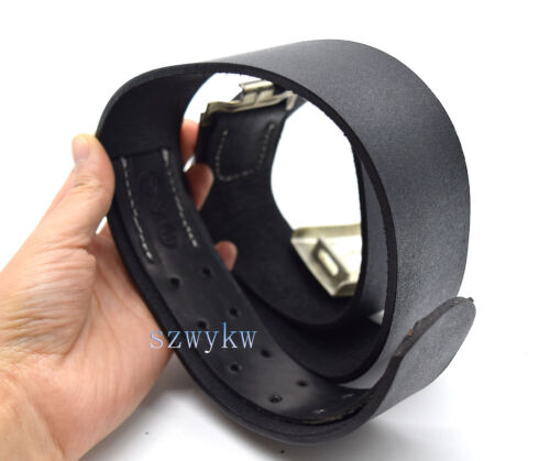 Replica German Army WH Leather Service Equipment Belt W Buckle 100cmGermany - 156432