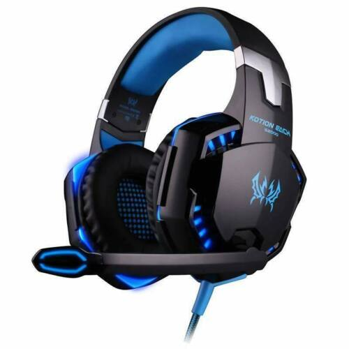KOTION EACH G2000 Gaming MIC LED Headset Surround for PC Mac Laptop PS4 Xbox One