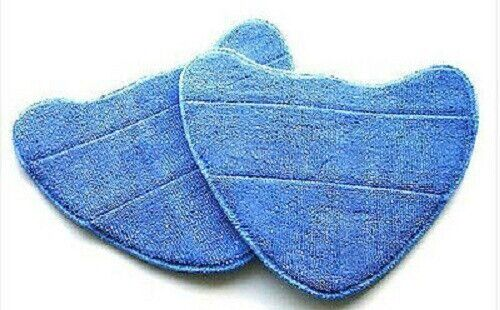 2 X MICROFIBRE STEAM MOP PADS TO FIT VRS26 MODEL STEAM CLEANER   33577 x 2