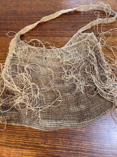 PNG old billum of bush string - Vintage