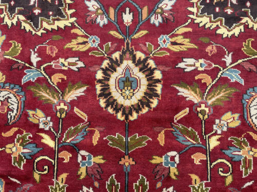10x14 HANDMADE VINTAGE CHINESE WOOL RUG HAND-KNOTTED china oriental big carpet