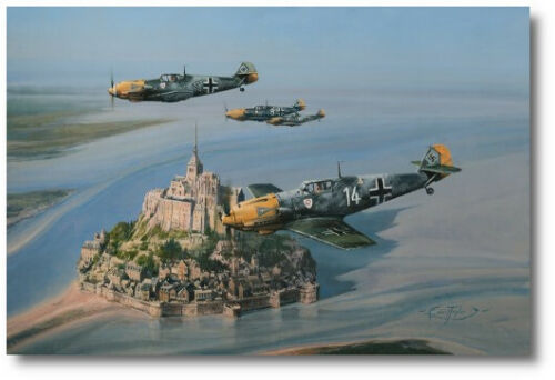 Eagles Of The West by Robert Taylor  - The Battle of Britain - Bf109s - Aviation