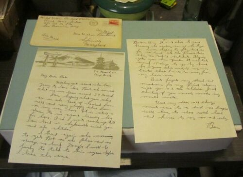 1954 US Army Sergeant Letter Camp Drake Tokyo Japan On Way Home From Korean WarOriginal Period Items - 13982