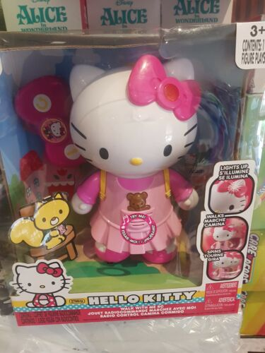 Hello Kitty Remote Control Rc Walk With Me Light Up Jadatoys