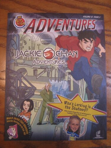 Burger King - Jackie Chan Adv. - Adventures Leaflet  Vol. 12 Issue 2 - 2001