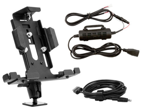 TAB42AMPSHW   Arkon Locking Tablet Mount with Hardwire Kit and USB Cable