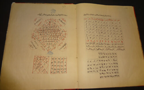 TWO RUHANI MANUSCRIPTS IN ONE VOLUME (OCCULT):