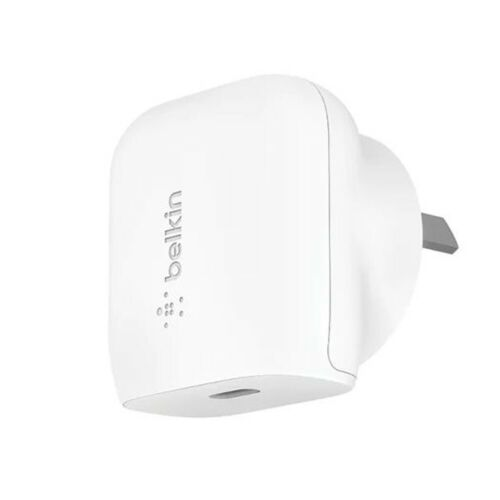 Belkin 20W USB-C PD Wall Charger Universally compatible - White