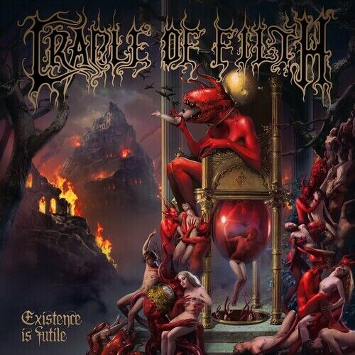 Cradle of Filth Existence is Futile Digipak CD NEW